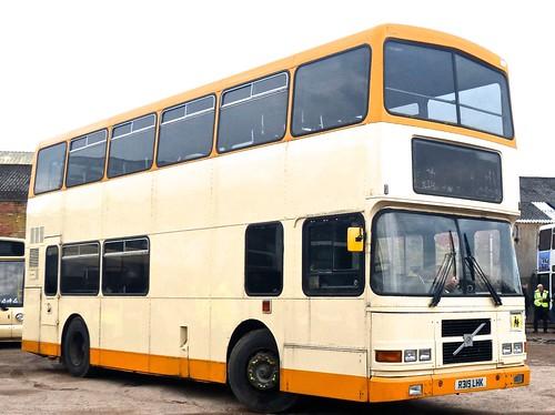 R319 LHK 'Fairway Travel'. Volvo Olympian / Alexander Belfast RV /2 on Dennis Basford's railsroadsrunways.blogspot.co.uk'