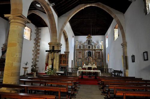 Tuineje (Fuerteventura-Canarias-España). Iglesia de San Miguel Arcángel. Interior