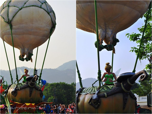 Tinker Bell at Hong Kong Disneyland