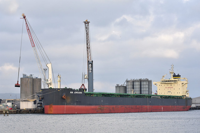 RB Jordana, Belfast Docks, December 2018
