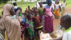 Burkina Faso Trachoma MDA Community