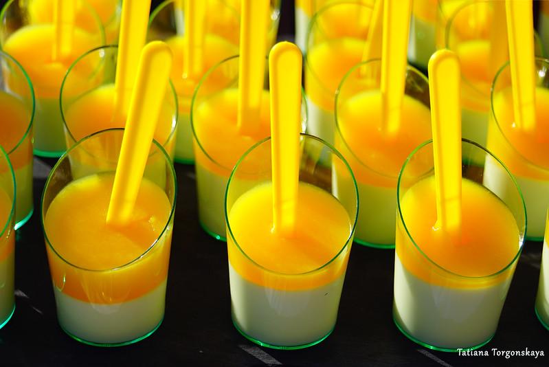 Десерт с апельсином