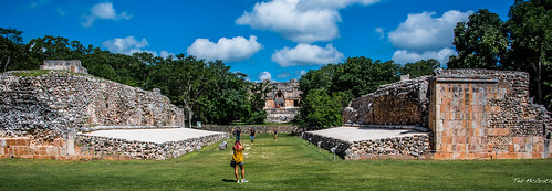2018 - Mexico - UXMAL - Ball Court