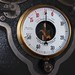 Schäffer & Budenberg vacuum/pressure gauge - Kempton Great Engines steam museum, England