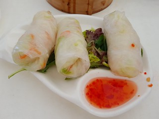 Rice Paper Rolls at Easy House