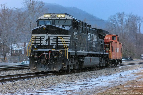 Norfolk Southern in the Snow