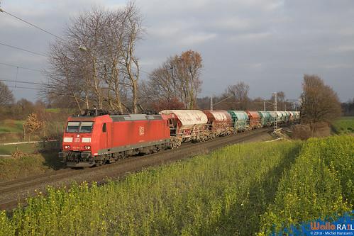 185 144 DB Cargo . 47542 . Lindern . 15.12.18.