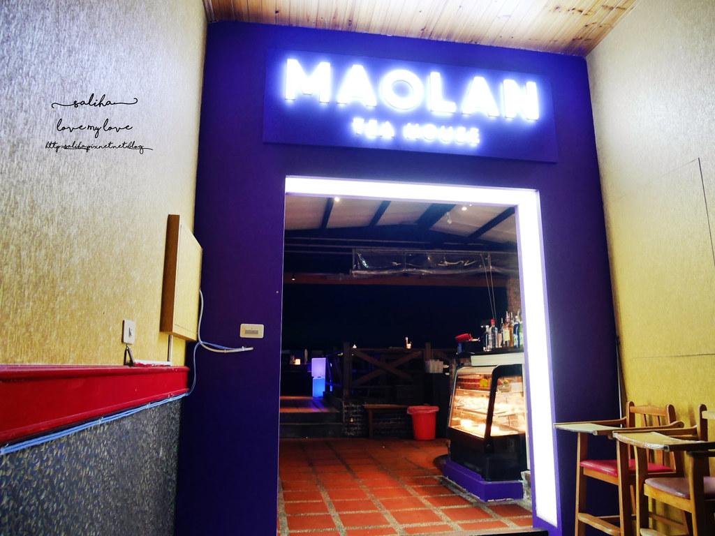 台北看夜景景觀餐廳咖啡貓懶MAOLAN餐點下午茶 (1)