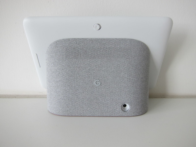 Google Home Hub - Back