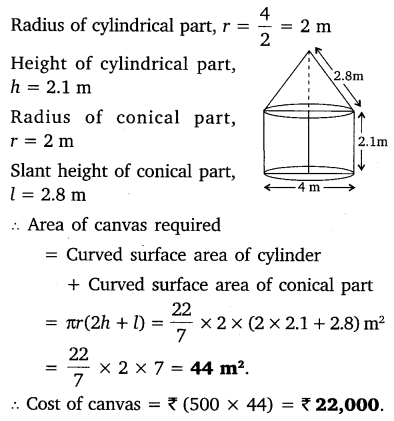 NCERT Solutions for Class 10 Maths Chapter 13 Surface Areas and Volumes 8
