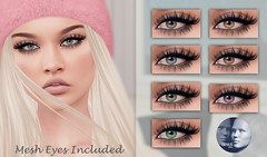 ::MD:: Luna Genus Eye Appliers + Mesh Eyes (unrigged)