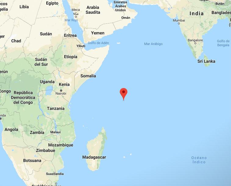 Seychelles mapa 1