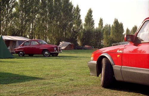 SAAB Club Nederland 40th Anniversary weekend meeting.