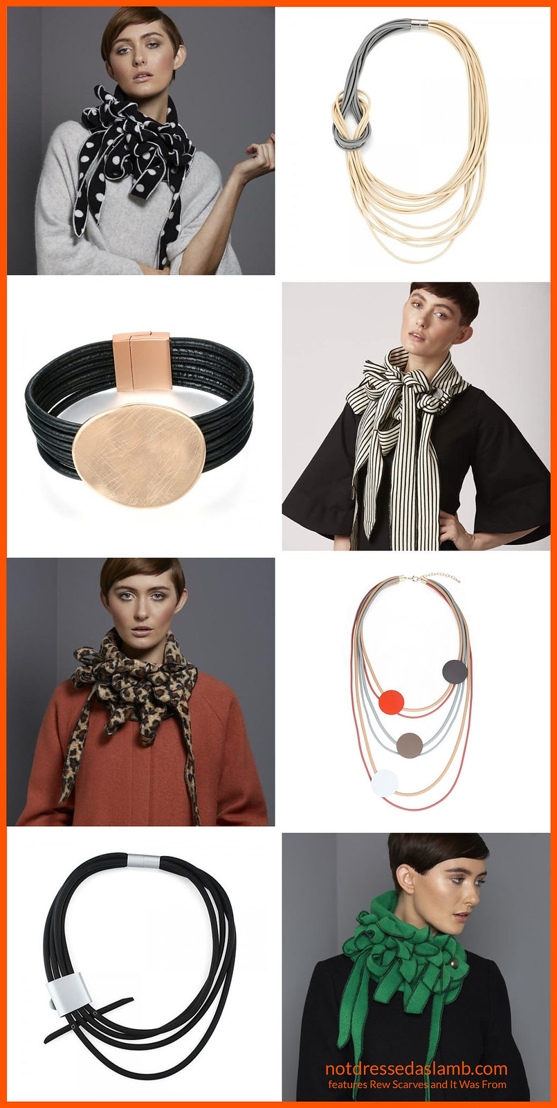 An Alternative Christmas Gift Guide: 9 Fantastic Indie Sellers - Rew Scarves and It Was From | Not Dressed As Lamb