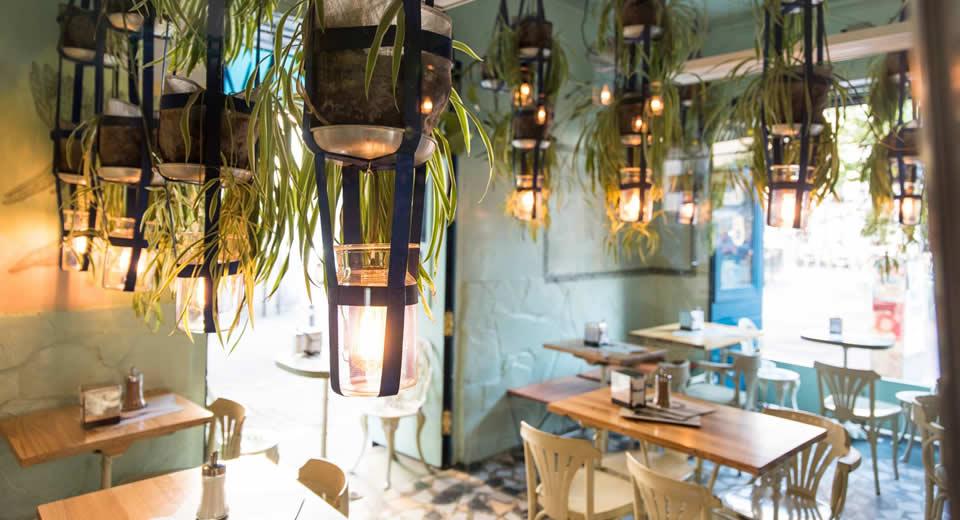 Restaurant in Malasaña, Madrid: Ojalá (foto met dank aan Ojalá) | Mooistestedentrips.nl