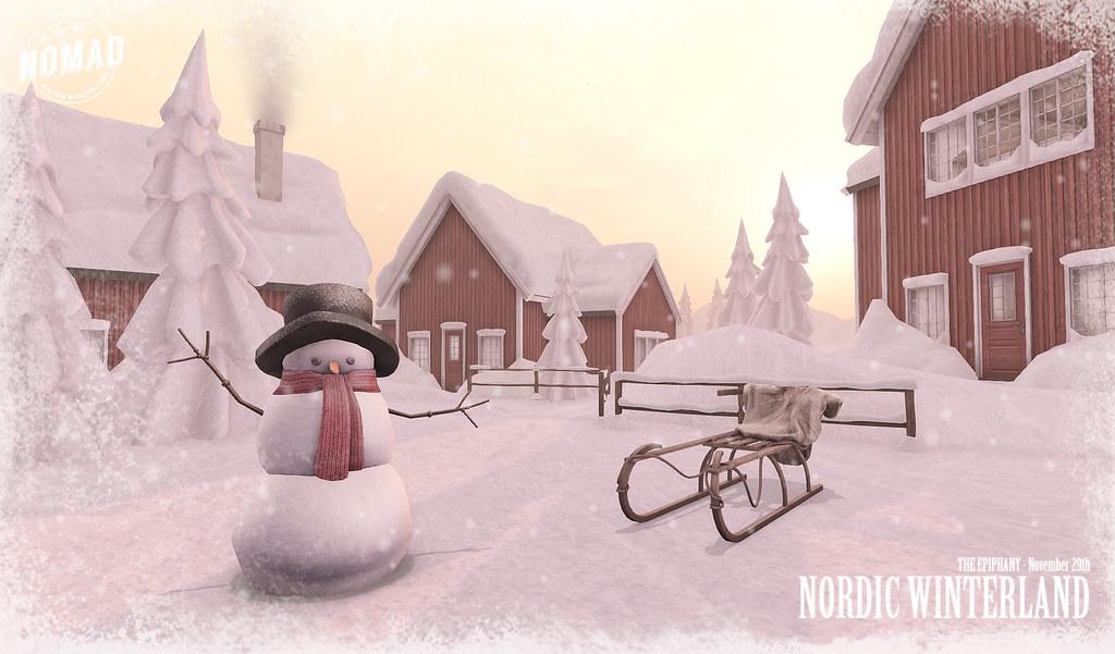 NOMAD // Nordic Winterland - TeleportHub.com Live!