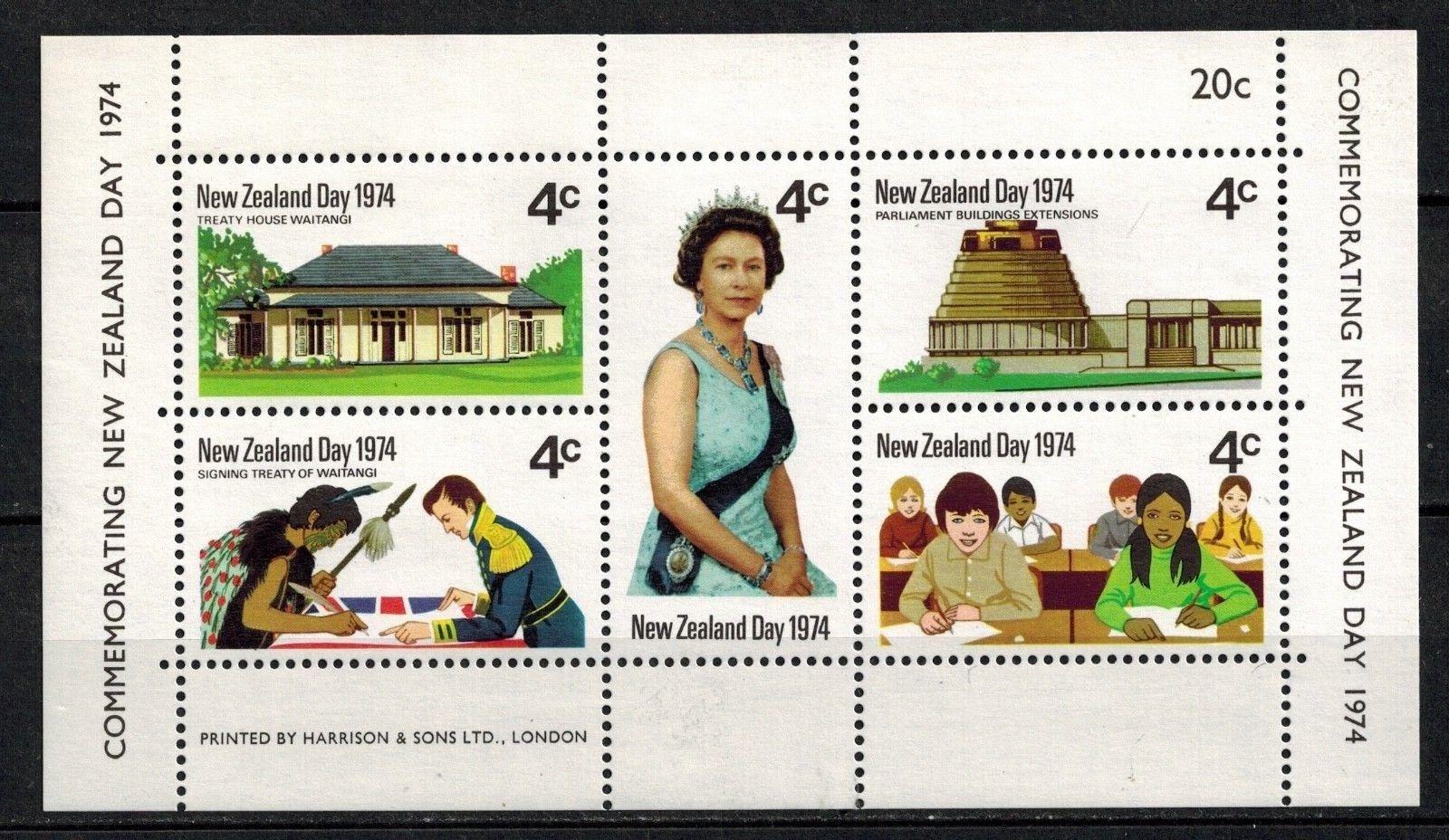 New Zealand - Scott #552 (1974)