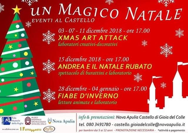eventi natalizi al castello