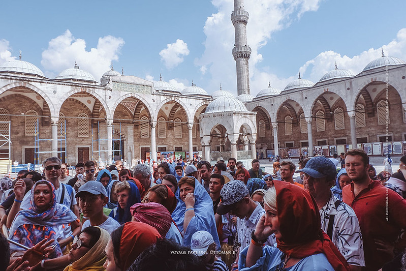 At The Blue Mosque