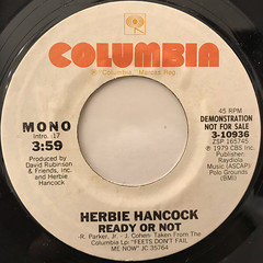 HERBIE HANCOCK:READY OR NOT(LABEL SIDE-B)