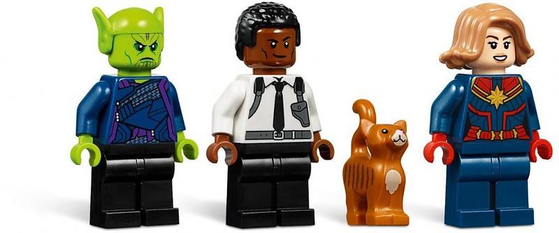 Brickfinder - LEGO Captain Marvel and the Skrull Attack ...