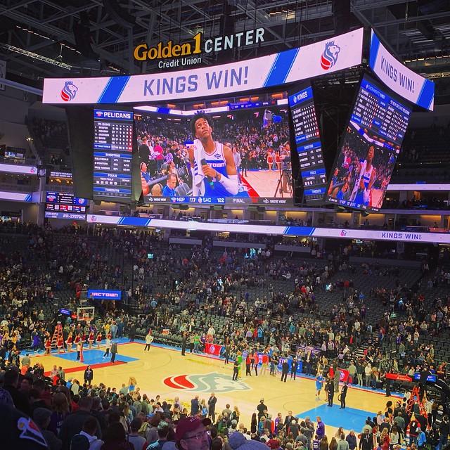 2018 Kings versus Pelicans