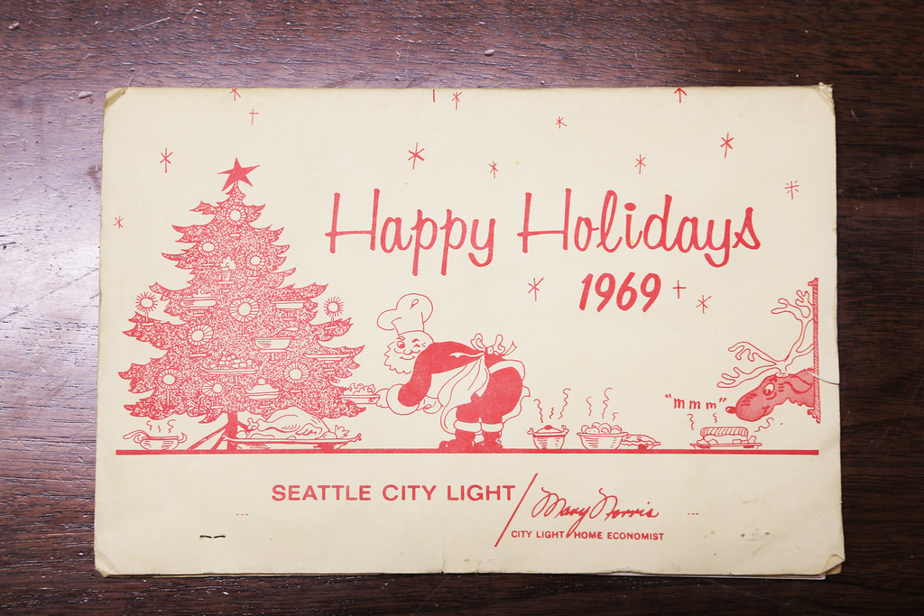1969 City Light Holiday Mailer