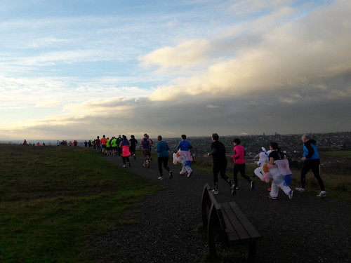 New years day at Gedling parkrun 2019
