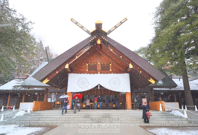 hokkaido itinerary hokkaido shrine