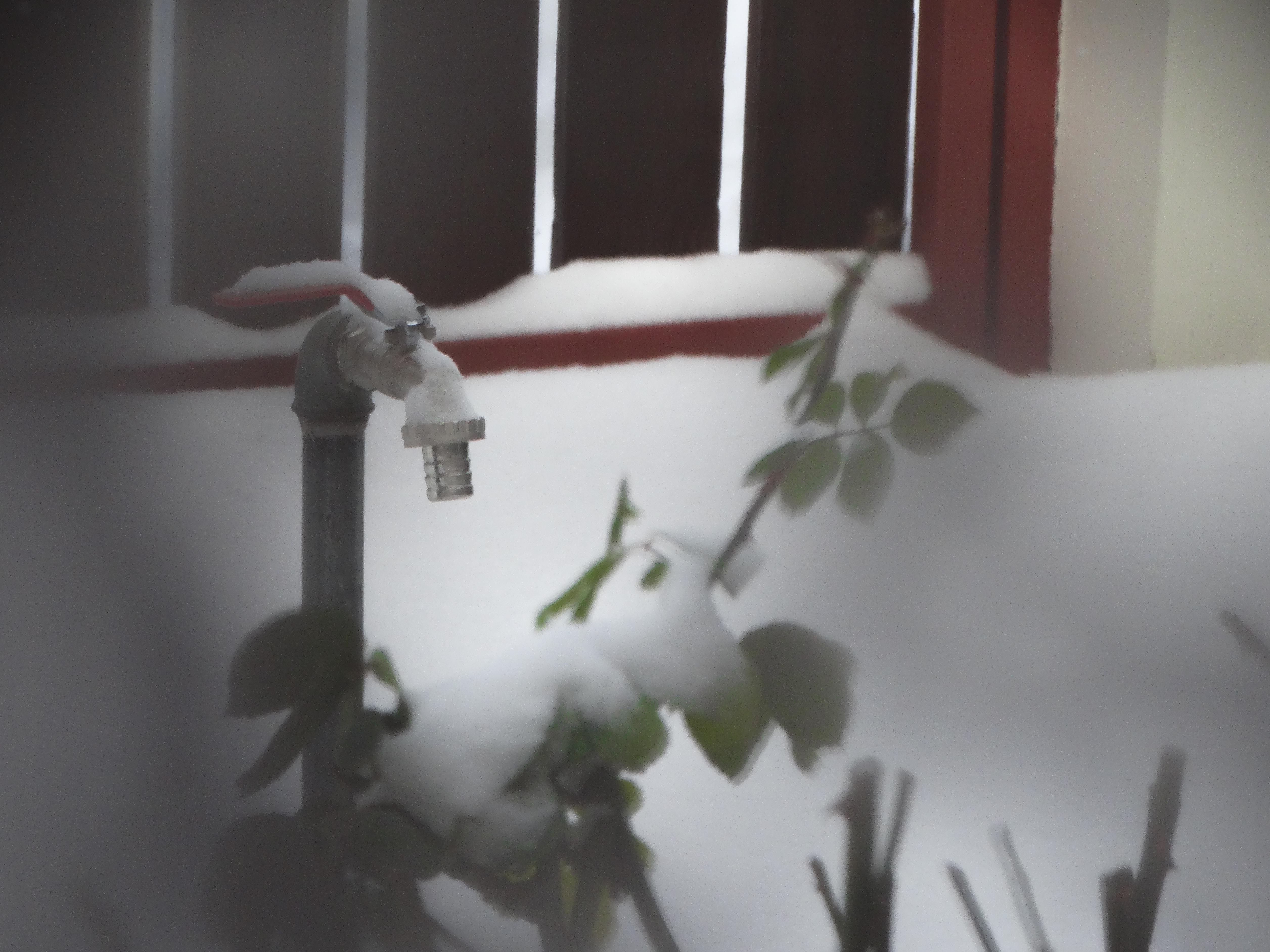 Csap télen