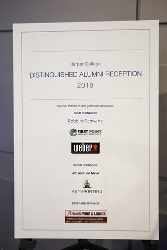 Distinguished Alumni Reception 2018