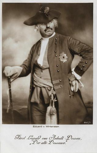 Eduard von Winterstein in Fridericus Rex (1921-1922)