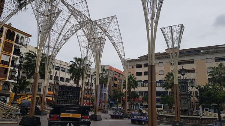 Juan Lozano respalda las diligencias abiertas por Cultura por las luces navideñas de la Plaza Alta