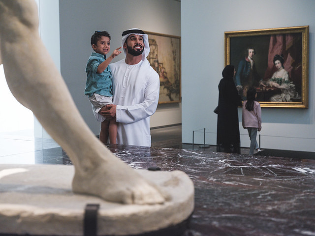 Gallery with Emarati Family