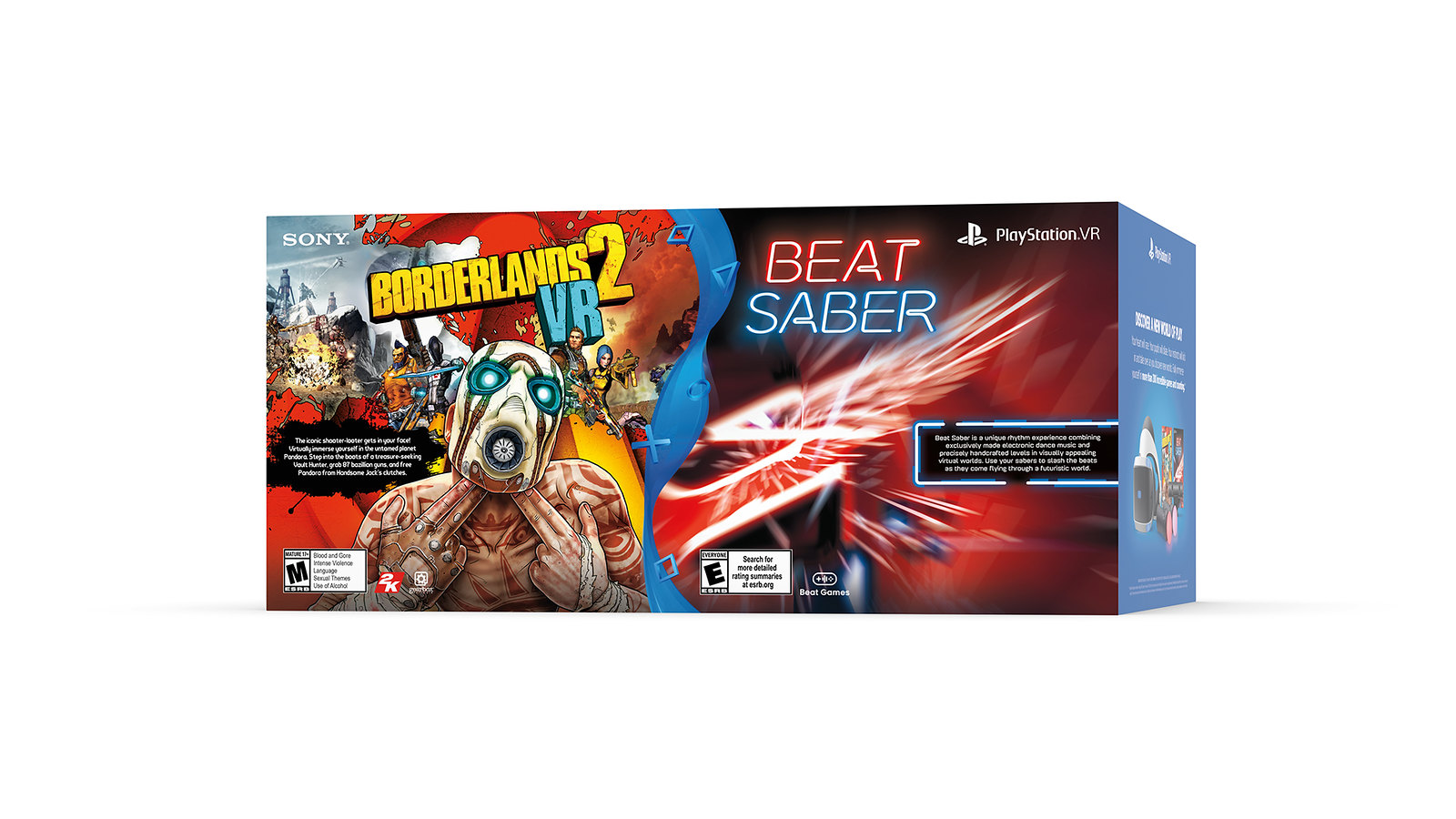 PS VR Borderlands 2 & Beat Saber Bundle
