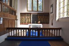 St Nicholas chapel (furnishings from Wattisham church)