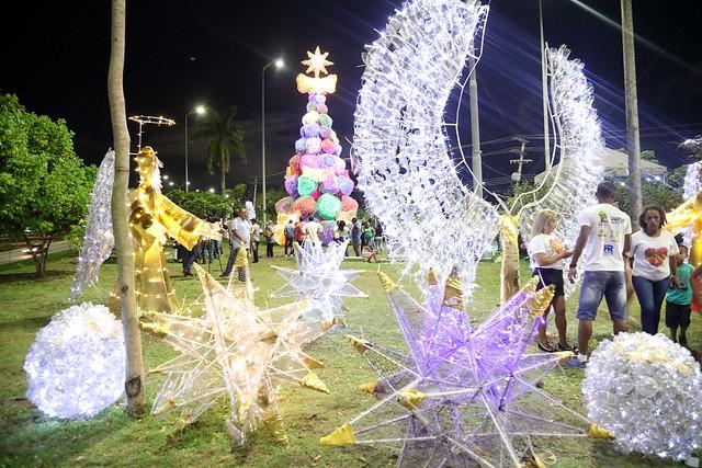 30.09.2018 Inauguração da Arvore de Natal da Cidade Nova