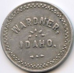J. Farrin 10 cent token obverse