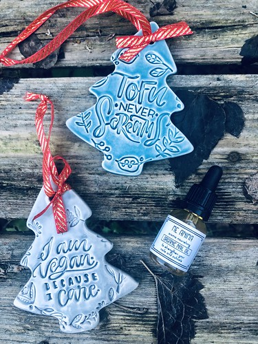 vegan facial oil and ceramics 💝 - from keramihacker and meanima, sweden, december 2018