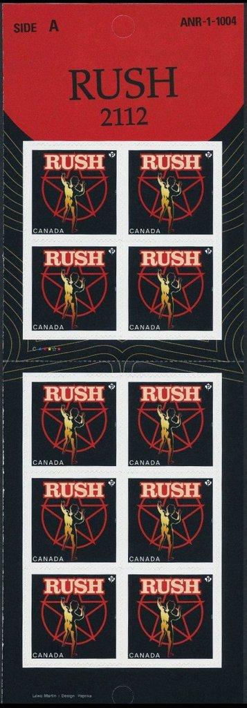 Canada - Scott #2657 (2013) self-adhesive booklet pane of 10