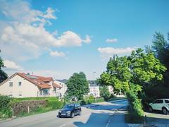 The sky of Passau
