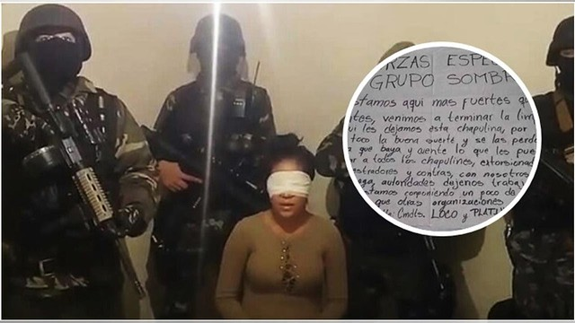 Célula del Cártel del Golfo tira a mujer en Veracruz con temible narcomensaje