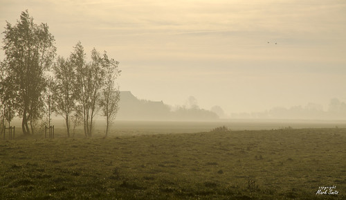 NL - Friesland - Kollumerpomp - Misty Sunrise