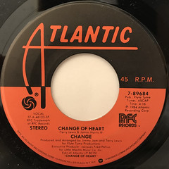 CHANGE:CHANGE OF HEART(LABEL SIDE-A)