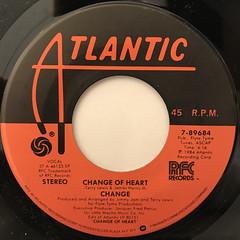 CHANGE:CHANGE OF HEART(LABEL SIDE-A)