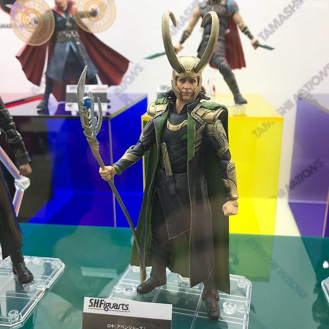 【Tokyo Comic Con 2018】BANDAI SPIRITS 名將、S.H.Figuarts系列展出多款Marvel、《星際大戰》新作!