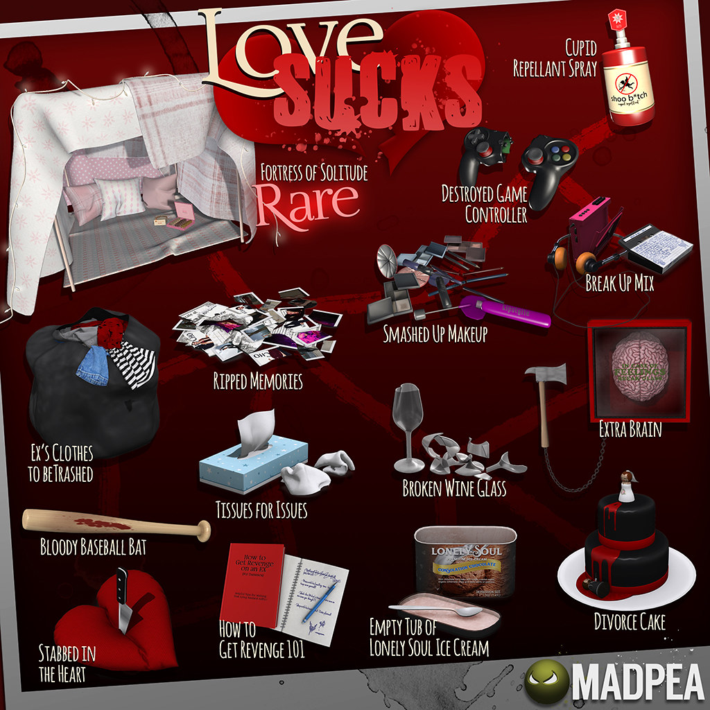 MadPea Love Sucks - TeleportHub.com Live!