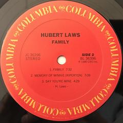 HUBERT LAWS:FAMILY(LABEL SIDE-B)