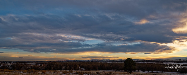 Sunset, Looking South Towards Pike's Peak (Explored)