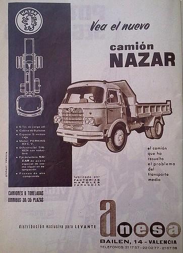 publicitat nazar distribuïdor oficial Anesa País Valencià